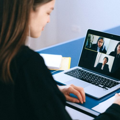 teleconference remote working