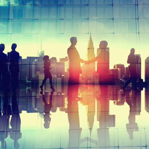 Business,Handshake,Corporate,Partnership,Agreement,Cityscape,Concept